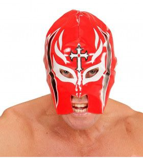 Amerikaanse Wwf Masker Worstelaar, Rood