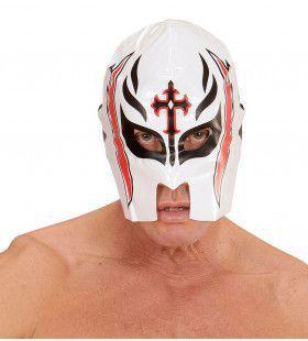 Amerikaanse Wwf Masker Worstelaar, Wit
