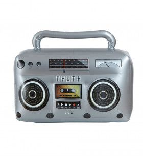 Ghettoblaster Opblaasbare Radio, 50cm