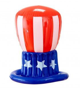 Grappig Patriotische Opblaasbare Hoed, Uncle Sam