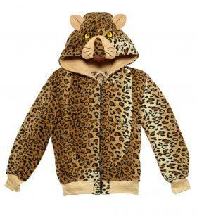 Cute Hoodie, Luipaard Kostuum