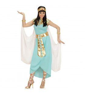 Egyptische Koningin Ank Kamon Kostuum