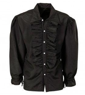 Roucheshemd Chico Shirt Zwart Man