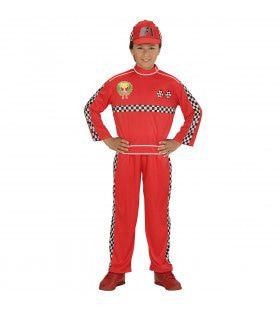 Formule 1 Coureur To The Max Jongen Kostuum