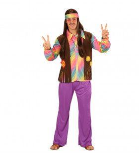 Comeback Hippie Man Kostuum