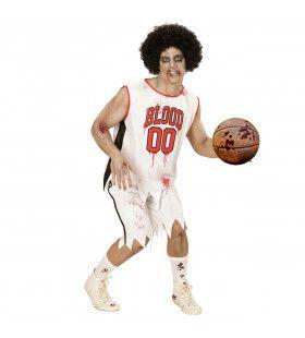 All Star Zombie Basketballer Man Kostuum