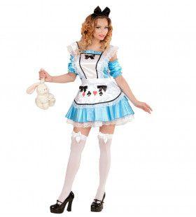 Alice Uit Het Sexy Wonderland Vrouw Kostuum