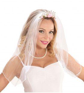 Say Yes Tiara Met Bruidssluier