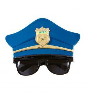 Copper Bril, Met Politiepet