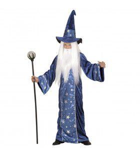 Wizzard Fantasy Tovenaar Kind Jongen Kostuum