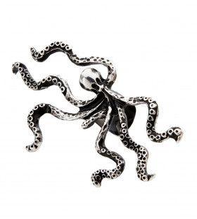 Piraten Accessoire Oorklip Octopus