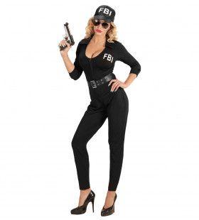 Hete Fbi Agent Vrouw Kostuum