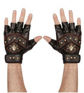 Rocker Vingerloze Handschoen Met Nagels