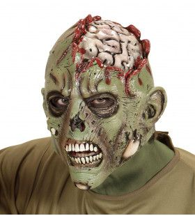 Groen Masker Hersenoperatie Zombie