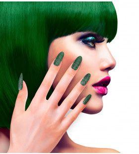 Nagels Diva Glitter Groen