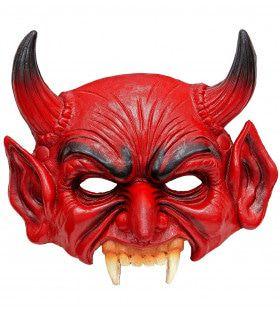 Kinloos Masker Duivel Rojo