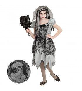 Spook Bruid Mastisa Meisje Kostuum