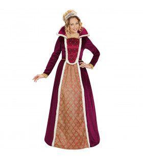Royal Queen Mary Vrouw Kostuum