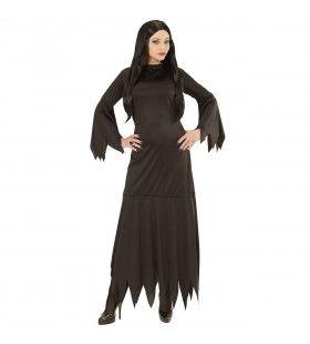 Mortisia Heksia Vrouw Kostuum