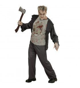Zombie Mark Man Kostuum