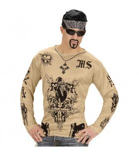 Tattoo Straatgang Shirt Man