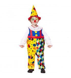 Clown Poepie Jongen Kostuum