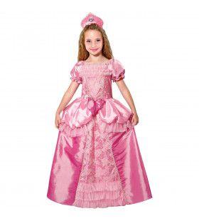 Prinses La Rosa De Los Balkones Meisje Kostuum