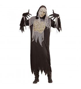 Mummie Smurfafa Man Kostuum