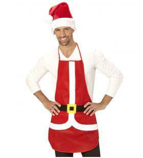 Kerstman Als Keukenprins Schort