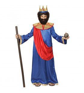 Bijbelse Koning Hiram Van Tyrus Jongen Kostuum
