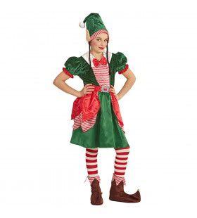 Eerlijk Elfje Kerstman Meisje Kostuum