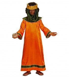 Bijbelse Koning Salomo Jongen Kostuum