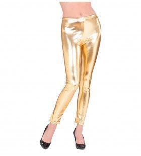 Glossy Gouden Legging Vrouw