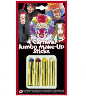 Schminkstiften Jumbo, Set Van 4