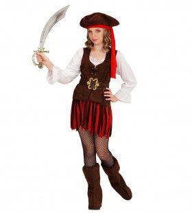 Caribische Piratenmeisje Carmen Kostuum