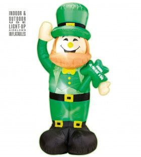 Opblaasbare St.patricks Day Kabouter 150cm