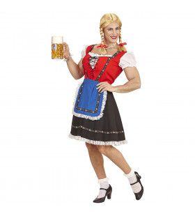 Travestiet Oktoberfest Dirnl Beiersmeisje Voor De Man Kostuum