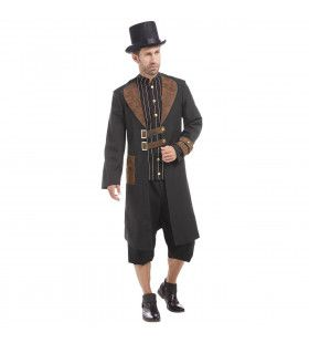 Techo Wacko Steampunk Man Kostuum