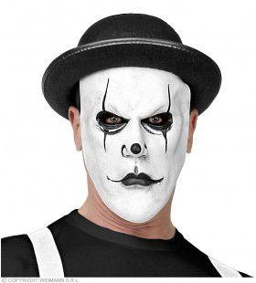 Masker Boze Pierrot Met Bolhoed