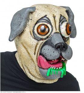 Kwijlende Bulldog Hond Masker