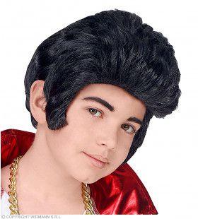 King Of Rock And Roll Elvis Pruik Kind