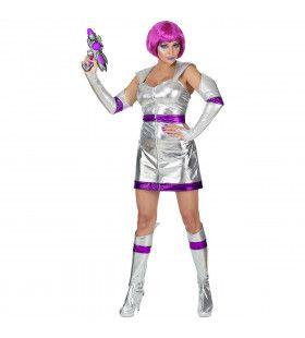 Science Fiction Dame Ursula Uranus Vrouw Kostuum