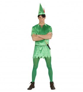 Peter Pan Nooitgedachtland Held Kostuum
