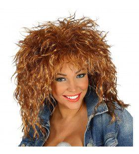 Pruik Rockster Tina Turner
