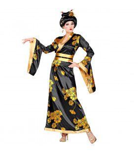Li San Lotus Geisha China Vrouw Kostuum