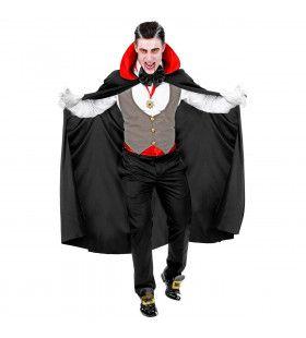 Gave Graaf Dracula Vampier Man Kostuum
