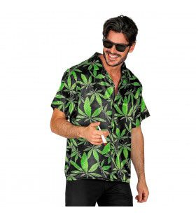 Cannabis Shirt Lekkere Trek Man