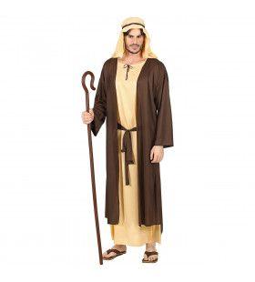Bijbelse Schaapsherder Kerststal Man Kostuum