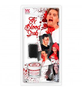 Horror Make-Up Set Bloed