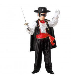 Heldhaftige Held Zorro Kind Kostuum
